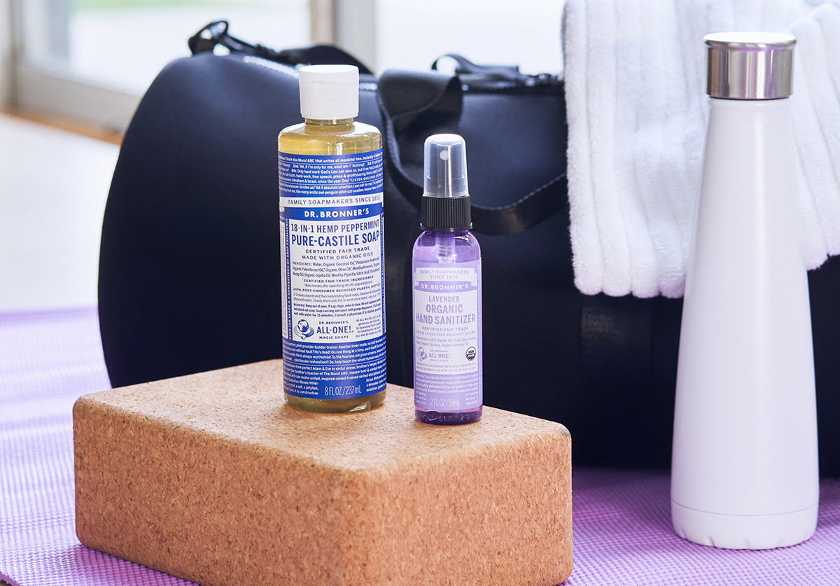 How to Clean a Yoga Mat with Dr. Bronner's