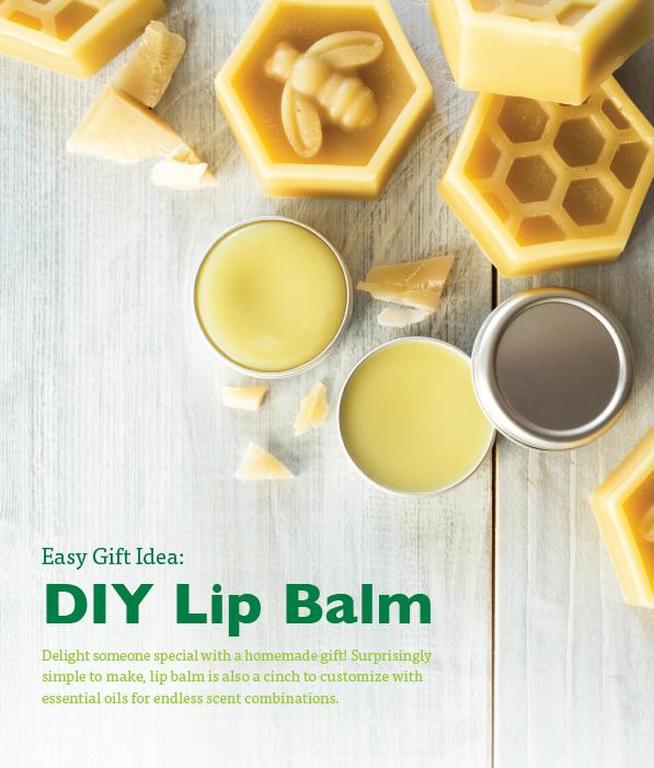 Easy Gift Idea: DIY Lip Balm