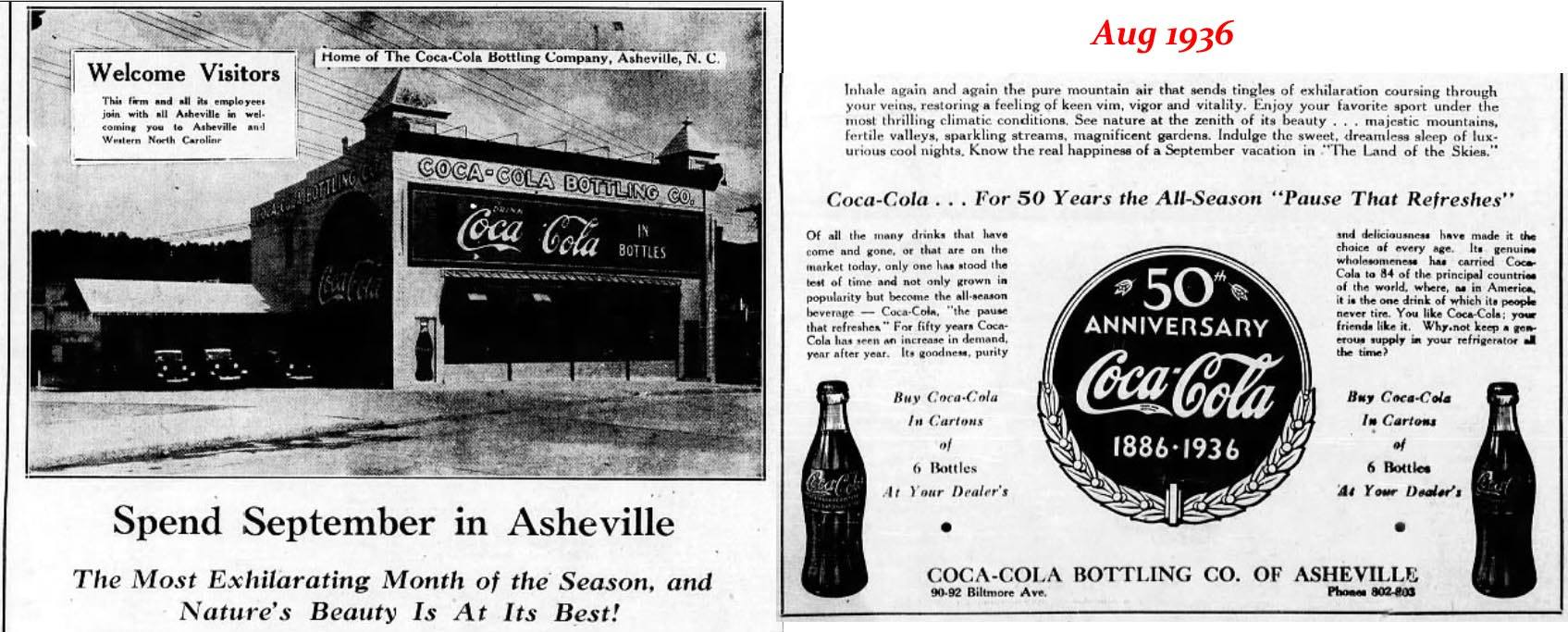 French Broad Food Co-op Building in 1936