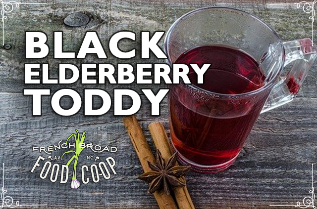 Black Elderberry Toddy