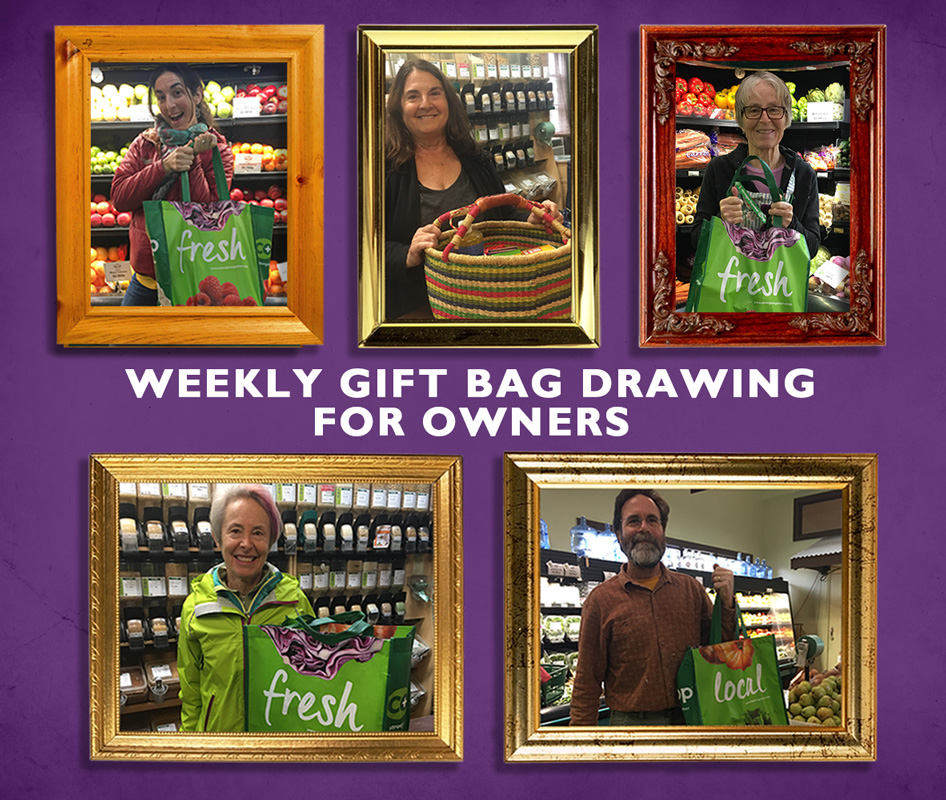 Weekly Owner Gift Bag Drawing