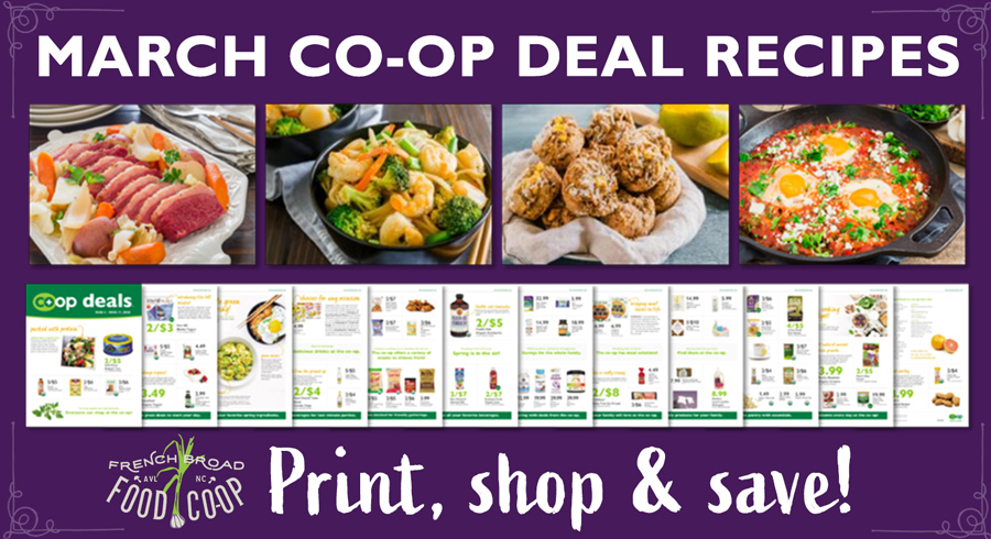 March Co-op Deals Recipes