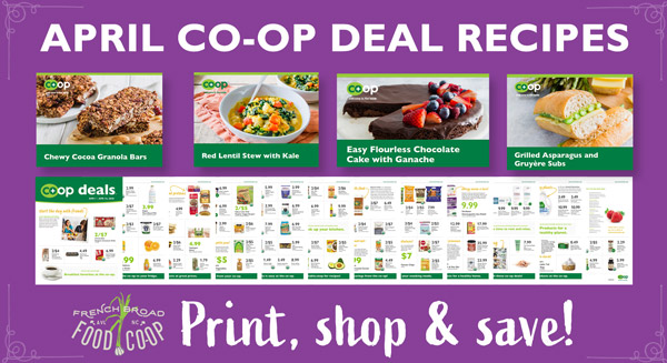 April Co-op Deals Recipes