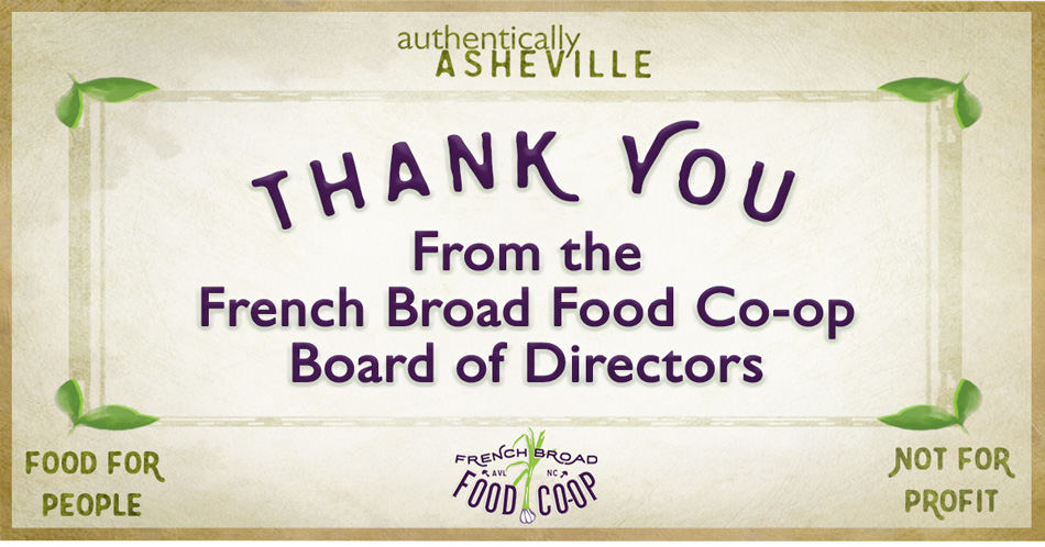 Thank You from the Board
