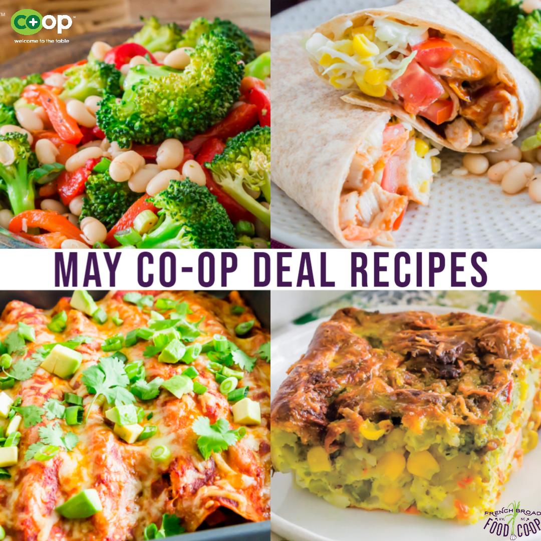 May Co-op Deals Recipes