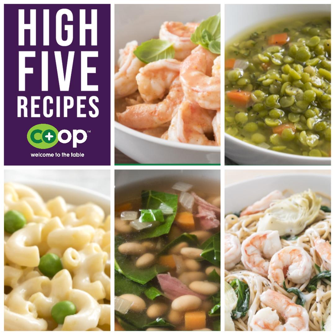 Five Ingredient High-Five  - Part 1