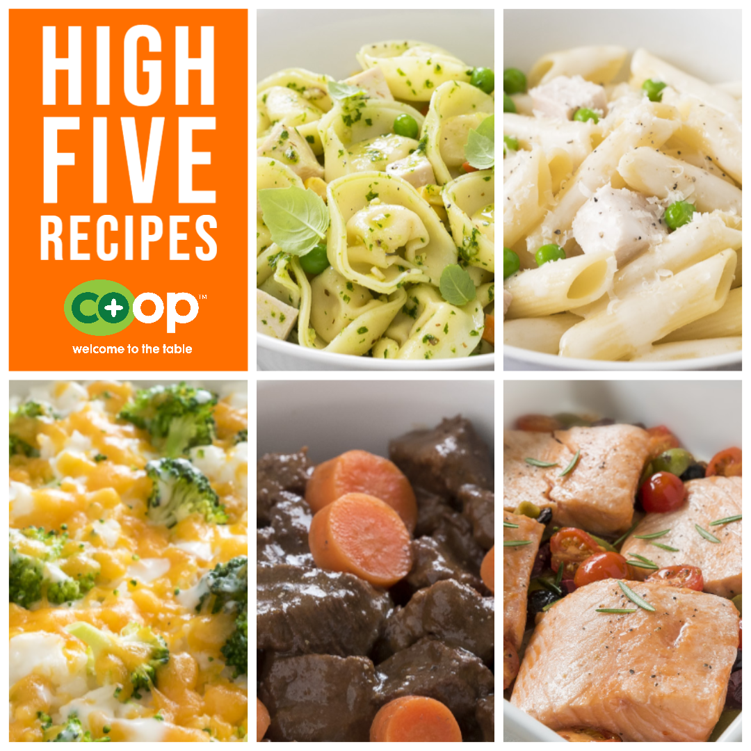 Five Ingredient High-Five  - Part 3