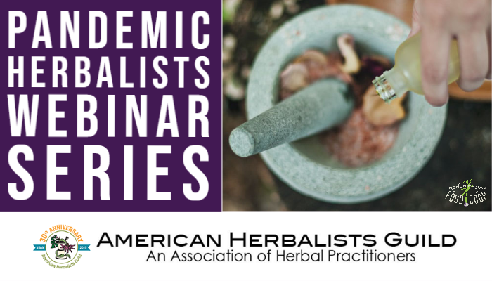 Pandemic Herbalists Webinar Series