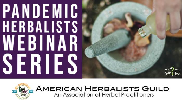 Pandemic Herbalists Webinar Series
