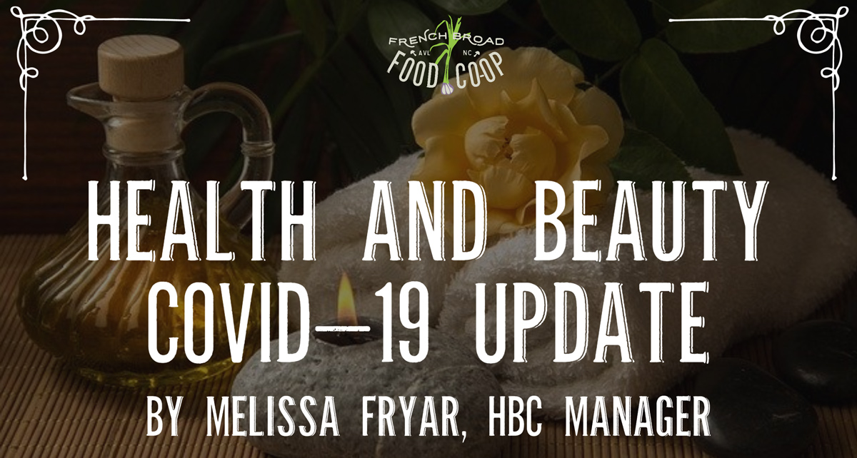Health and Beauty COVID-19 Update