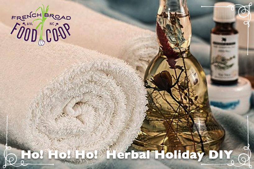 Ho! Ho! Ho!  Herbal Holiday DIY